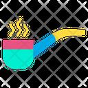 Pipe Smoke Smoking Pipe Icon