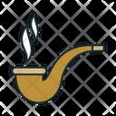 Pipe Smoking Pipe Nicotine Icon