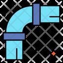 Pipe Bend Plastic Icon