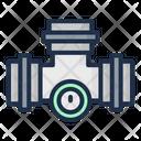 Pipe Acid Rain Nuclear Icon