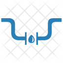 Pipe Connection Drop Icon