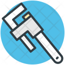 Pipe Wrench Repair Icon