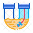 Pipe Blocked Icon