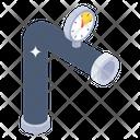 Water Metering Valve Gauge Pipe Gauge Icon