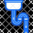 Pipe clogging Icon