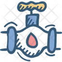 Connection Counter Pipe Icon