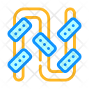 Pipe Irrigation System Icon