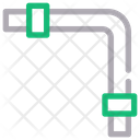 Pipe Line Pipe Plumbing Icon