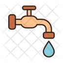 Pipe losing water Icon
