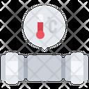 Pipe temperature Icon