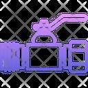 Ball Valve Plumber Icon