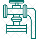 Pipe Valve Pipeline Icon