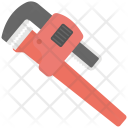 Pipe Wrench Hand Icon