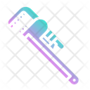 Pipe Wrench Construction Icon