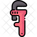 Pipe Wrench Adjustable Wrench Construction And Tools Icon