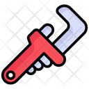 Pipe Wrench Wrench Worker Icon