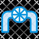 Pipeline Construction Pipe Icon