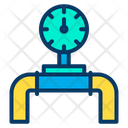 Pipe Transportation Pipe Pipe Line Meter Icon