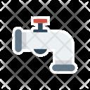 Pipeline Plumbing Tap Icon