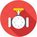 Gas Pipeline Station Icon