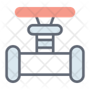 Pipeline Valve Icon
