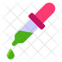 Dropper Pipette Chemical Dropper Icon