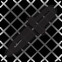 Dropper Design Pipette Icon