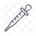 Pipette Dropper Laboratory Icon