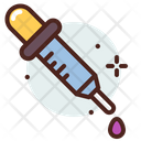 Pipette Dropper Injection Icon