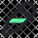 Pipette Design Drop Icon