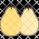 Pir Fruit Healthy Icon
