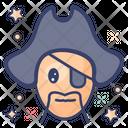 Pirate Caribbean Criminal Icon