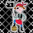 Pirate Bandit Pirates Icon