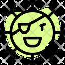 Pirate Coronavirus Emoji Coronavirus Icon