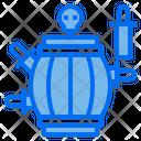 Pirate Barrel Game Player Entertainment Icon
