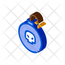 Bomb Danger Fire Icon