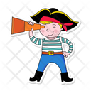 Pirate Captain Pirate Captain Icon