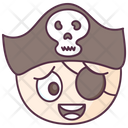 Pirate Face Icon