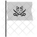 Pirate Flag Fox Icon