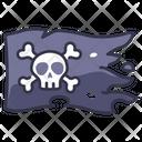 Flag Pirate Skull Icon