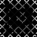 Pirate Flag Ensign Flagpole Icon