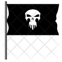 Pirate Flag Angry Icon