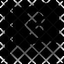 Danger Pirate Flag Waving Flag Icon