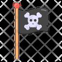Pirate Ensign Pirate Flag Skull Flag Icon