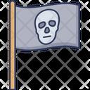 Pirate Flag Flag Skull Icon