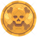 Pirate Gold Coins Icon