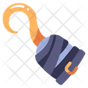 Pirate Hand Hook Icon
