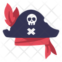 Hat Pirate Skull Icon