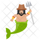 Pirate Mermaid Icon