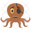 Pirate Octopus Icon